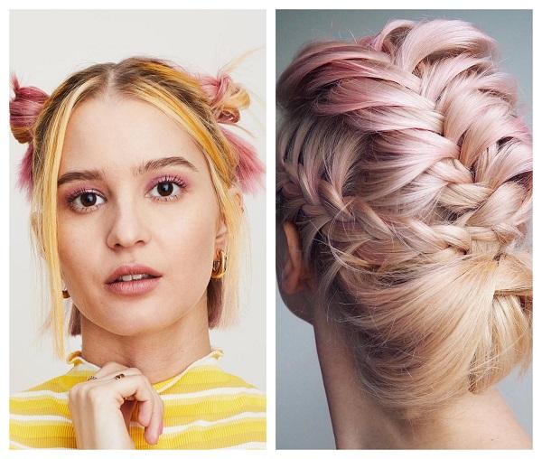 Hair makeup – боя за смелите