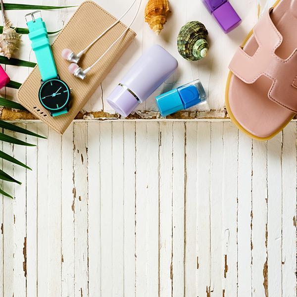 тайните на женската козметична чанта през лятото