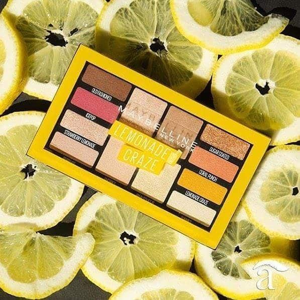 Maybelline New York Lemonade Craze: палитра сенки за цялостна визия