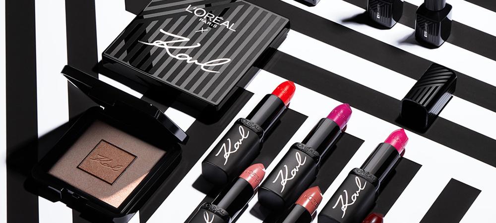 Karl Lagerfeld x L'Oréal Paris – Една от последните колаборации с личния печат на модния гений