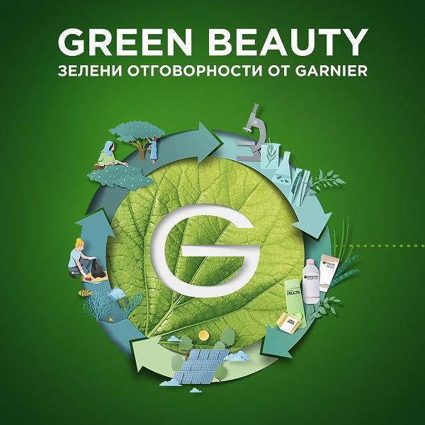 Garnier стартира Green Beauty инициатива