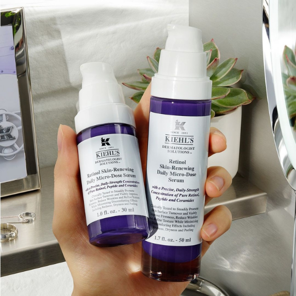 Kiehl's пуска революцинния и иновативен серум Retinol Skin-Renewing Daily Micro-Dose